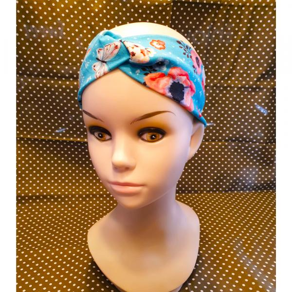 Blumen / Schmetterling  Haarband