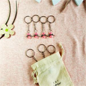 Glücksengel als Anhänger - Pink